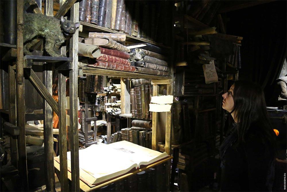 Экспозиция музея и магический котэ