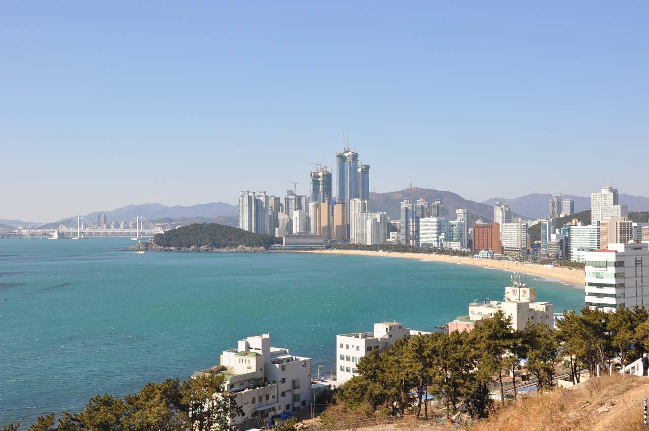 Пляж Хэундэ - Пусан, Южная Корея